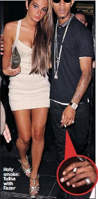 cc2fa554e Pressreader Daily Mail 2011 09 27 Is Tulisa S Boyfriend Playing