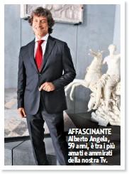 ??  ?? AFFASCINANTE Alberto Angela, 59 anni, è tra i più amati e ammirati della nostra Tv.