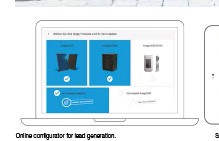 ??  ?? Online configurator for lead generation. Sales app for easy system planning with real photos.