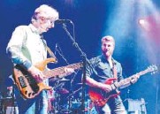 ?? John R. Wisdom, Special to The Washington Post ?? Phil Lesh, left, and his son Grahame regularly jam together in the Terrapin Family Band.