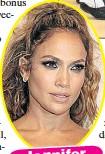??  ?? Jennifer Lopez