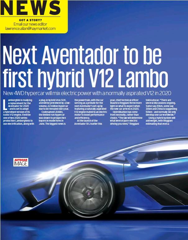 Pressreader Autocar 2018 12 12 New Aventador