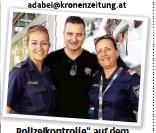 """??  ?? """" Polizeikontrolle""""ll """"auf dem Flughafen in Klagenfurt."""