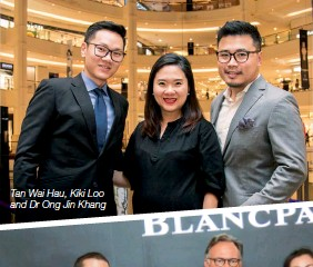 ??  ?? Tan Wai Hau, Kiki Loo and Dr Ong Jin Khang
