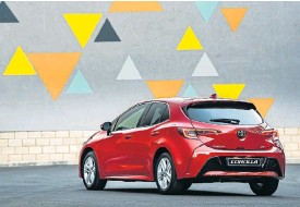 ??  ?? The new-generation Corolla Hatch offered a more exciting design when it was launched here last year.