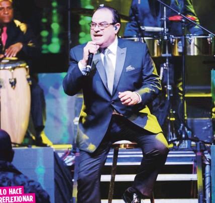 ?? Suministrada ?? La reciente crisis de salud del cantante Ismael Miranda, de quien es colega y amigo, lo llevó a rememorar lo vivido el pasado mayo.