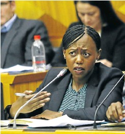 ?? Picture: Esa Alexander ?? Outgoing CEO Nhlamulo Dlomu will be replaced by someone from outside the auditing firm, KPMG said this week.