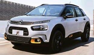 ?? Divulgação ?? Citroën C4 Cactus X-series, limitada a 600 unidades vendidas