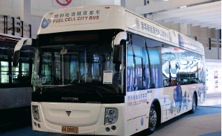 ?? Picture: EPA ?? NEW INDUSTRY: The Department of Trade and Industry will host a two day fuel-cell bus workshop in the city in partnership with the German government.