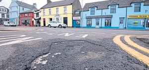 ??  ?? Coun­cils across the north and north-east re­port a back­log of re­pairs to pot­holes