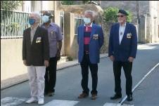 ??  ?? La délégation d'anciens combattants