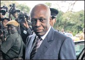 ?? PICTURE: AP ?? Angola's President Jose Eduardo dos Santos. He has said he will not run in elections set for August but as head of the ruling party he will retain sweeping powers.