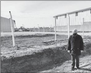 ??  ?? Ricardo Ravella, coordinador del municipio en el Parque Industrial