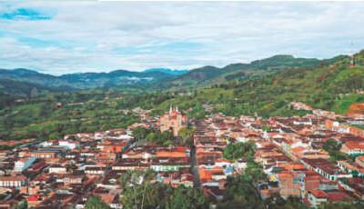 ??  ?? En el municipio de Jericó se ubica la mina Quebradona, que será el proyecto de explotación de cobre subterráneo más grande de Colombia.