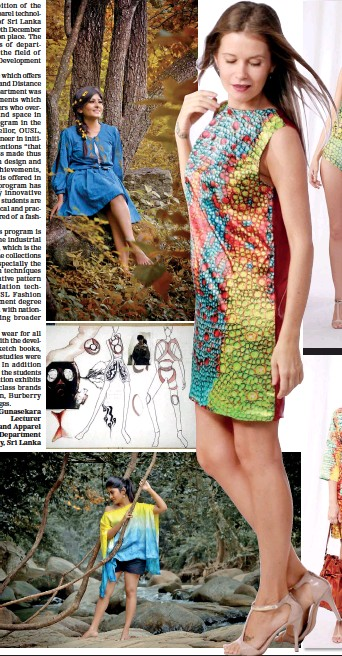 Pressreader Sunday Times Sri Lanka 2017 01 08 The Open University Sri Lanka Graduation Fashion Exhibition 2016