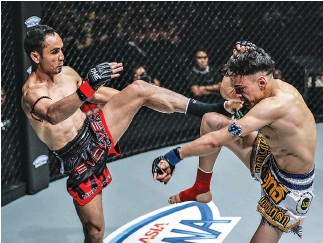 ??  ?? TRADITIONAL MUAY THAI is one Asian martial arts form that will be featured in the newly announced ONE Super Series.