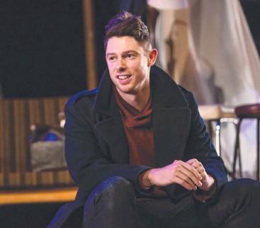 ??  ?? AUSSIE-FIED: Nicholas Gell plays Konstantin in QTC's take on Chekhov's The Seagull