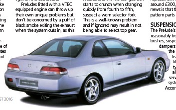 Third Generation Prelude Shows The 80s Honda Styling Themes Also Found On Contemporary Rovers