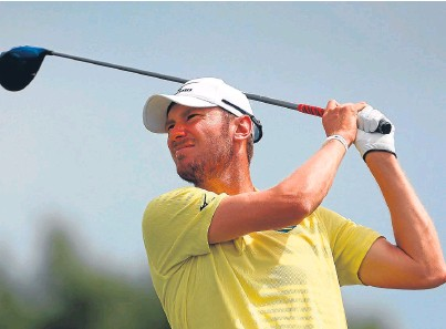 ?? Picture: Getty. ?? Chris Wood on his way to winning the Lyoness Open last year.