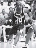 ?? 1997, TIMES-DISPATCH ?? William & Mary's Randy Bracy was an All-CAA selection in 1998, and scored 1,229 points for the Tribe.