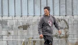 ?? WARWICK SMITH/ STUFF ?? Bryan Matenga has returned to coaching senior rugby in Manawatu¯ this year, taking the reins at College Old Boys.