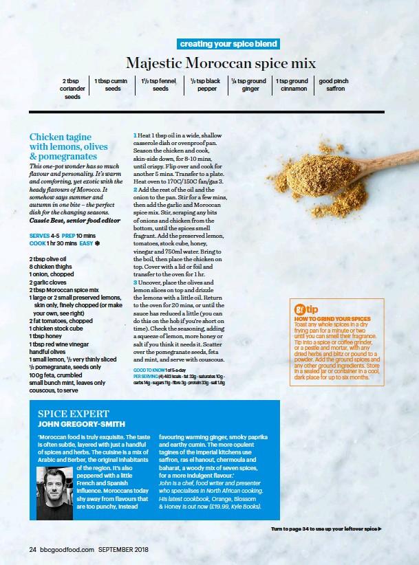 PER SERVING (4) 483 kcals • fat 32g • saturates 10g • carbs 14g • sugars  11g • fibre 3g • protein 33g • salt 1.8g
