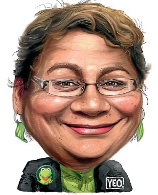??  ?? The Green Party's base has been in a state of torpor for months. Now, Metiria Turei has galvanised it.