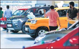 ?? MINT ?? On a standalone basis, the auto major reported net profit of ₹1,166.1 crore, down 9.7% from the same period last year.