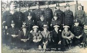 ??  ?? Jodie Whittaker, right, discovered that her mineowning ancestors, above with police officers, kept the colliery open to profit during the General Strike in 1926