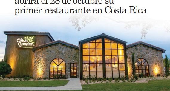 Pressreader La Republica 2020 10 13 Olive Garden Abrira El 28 De Octubre Su Primer Restaurante En Costa Rica