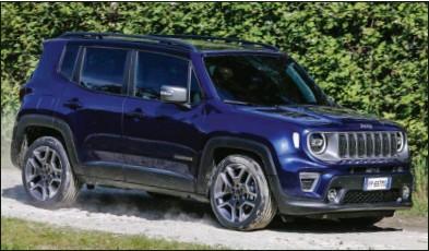 ??  ?? Le Renegade évolue mais sa gamme 4x4 se réduit comme peau de chagrin. Jeep Renegade 4x4 2.0 MultiJet 140 ch Limited 32 300 € 140 ch CO2 : 148 g/km Jeep Renegade 2.0 MultiJet 170 ch Trailhawk n.c. 170 ch CO2 : n.c.
