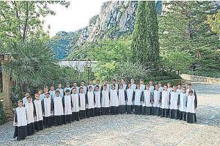 ?? Fundació ONCA ?? La Escolania de Montserrat, protagonista de la gira de conciertos de la ONCA.