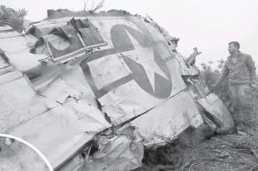 ??  ?? Крыло бомбардировщика Lokheed PV-1 Ventura.