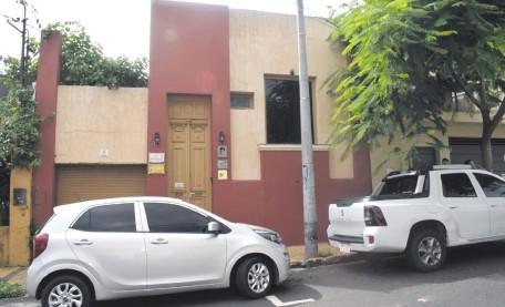 ??  ?? El local de la ONG CIAP ubicada en la dirección: calle Paraguarí Nº 1173 de la ciudad de Asunción.