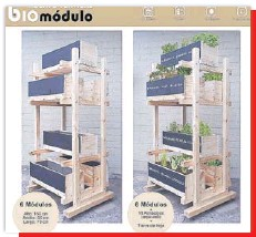 ??  ?? Con @biomodulo las hierbas están al alcance de la mano