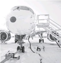 ?? BOMBARDIER ?? Delays and cost overruns have put Bombardier's CSeries at a disadvantage compared to its chief rivals, who have developed their own similar aircraft with composite materials and fuel-efficient engines.