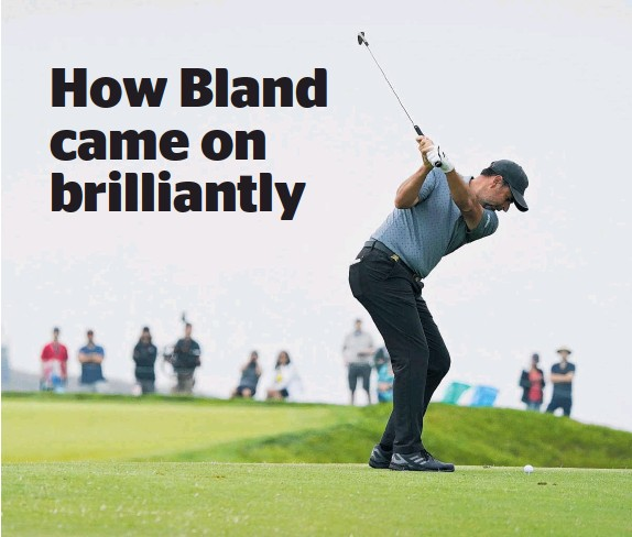 ?? Photo / AP ?? Englishman Richard Bland on the second fairway during the second round of the US Open at Torrey Pines in San Diego.