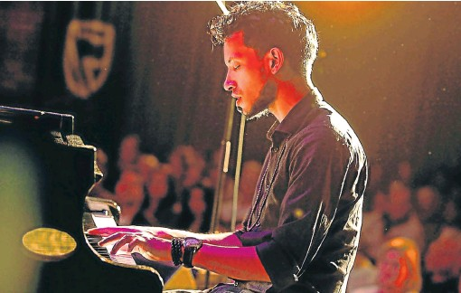?? /File picture ?? New journey: Kyle Shepherd, one of SA's foremost jazz pianists and composers, will perform at the Stirling Auditorium in East London on Saturday.