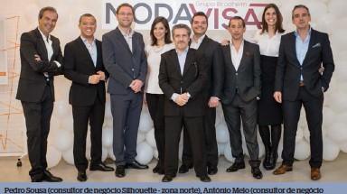 260f29b4600b8 Pedro Sousa (consultor de negócio Silhouette - zona norte), António Melo  (consultor de negócio adidas e Prodesign), André Brodheim (optical    marketing ...