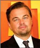 ??  ?? Leonardo DiCaprio See Question 6.