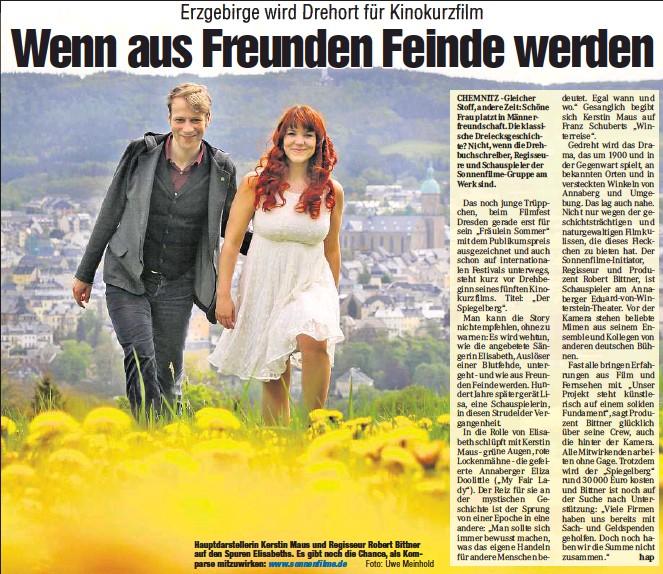 Pressreader Chemnitzer Morgenpost 2014 05 07 Wenn Aus Freunden