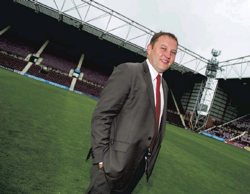 ??  ?? 2 Ian Murray was chairman of the Foundation of Hearts at a time when everything looked rosy at Tynecastle, but the former club director believes that a number of questionable decisions, allied to the coronavirus pandemic, have left Hearts in a perilous position.