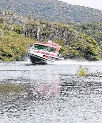 ?? PHOTO: TRANSPORT ACCIDENT INVESTIGATION COMMISSION ?? Water taxi capsize. . . . The skipper of Henerata helped passengers survive