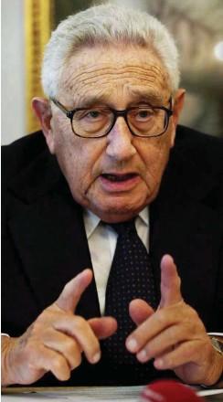 ??  ?? Genese des republikanischen Verfalls: Die USA in der Hand eines Räuberhauptmanns (Nixon), eines Rücksichtslosen (Kissinger) und eines Selbstbewunderers (Trump)