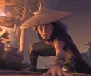 "?? PROVIDED BY DISNEY ?? Raya (Kelly Marie Tran) is on a quest in ""Last Dragon."""