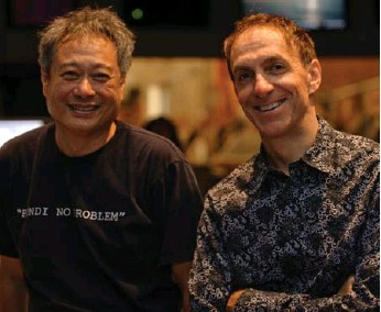 ?? KEVIN ESTRADA FOX ?? Life of Pi director Ang Lee, left, contacted composer Mychael Danna, telling him he was perfect for the job.