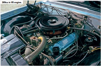 ??  ?? 389cu in V8 engine.