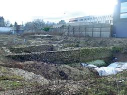 ??  ?? Reperti storici I resti della Villa romana emersi durante i lavori all'ex caserma Passalacqua