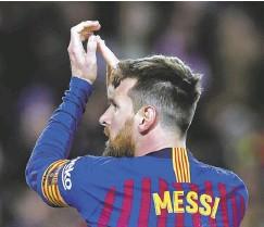 ??  ?? Messi no jugaba con la Albiceleste desde el Mundial.