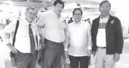 ??  ?? Shown after signing of the memorandum of agreement at Megamall during Coconut Week Celebration on August 27 are (from left): Cooperation Development Authority Administrator Eloy Castillo, SJCPPC Vice Chairman Capt. Manny Barradas, Philippine Coconut...